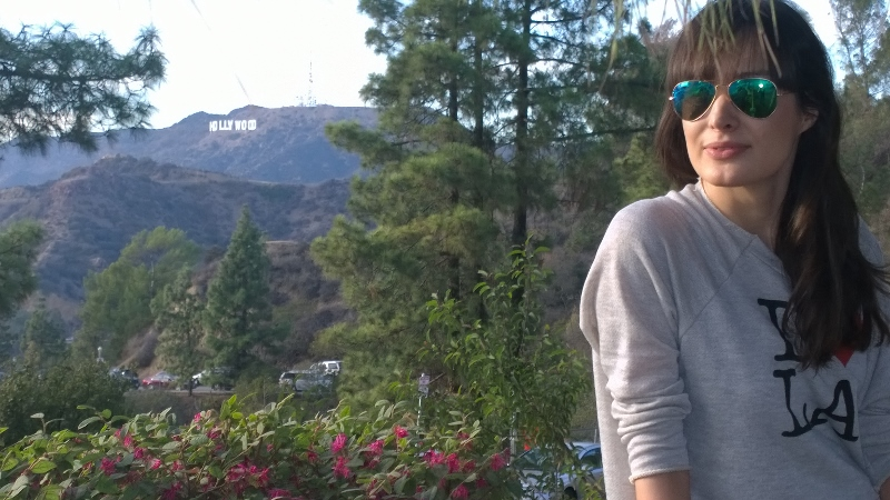 A walk up the Hollywood hills
