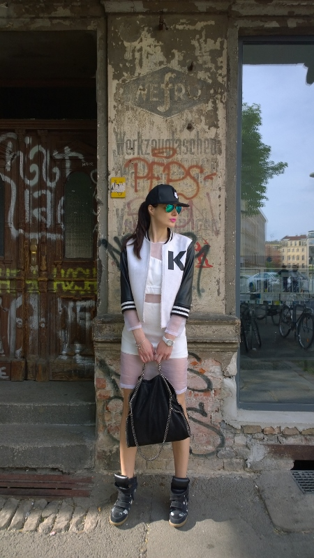 Sporty chic take on Berlin