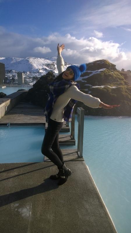 A day in heaven aka Blue Lagoon:)
