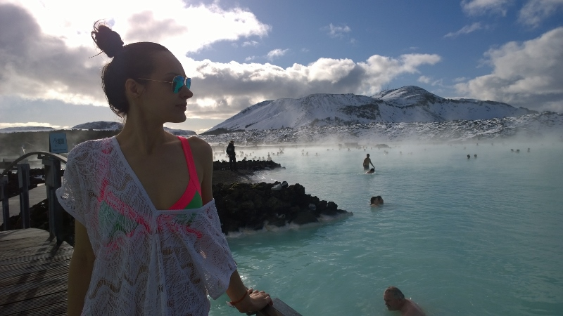 Pampering time at Blue Lagoon